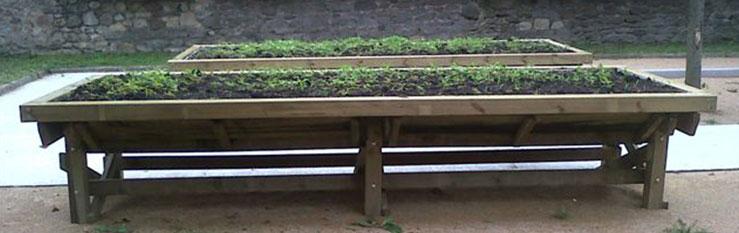 bac 26 Bac à jardiner PMR